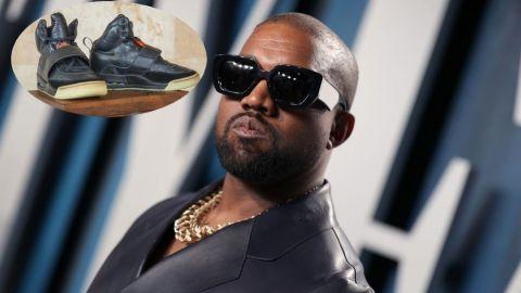 Tenis de Kanye West son comprados por más de un millón de dólares