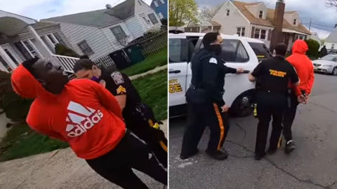 Policía esposa a adolescente afroamericano por no tener licencia de bicicleta