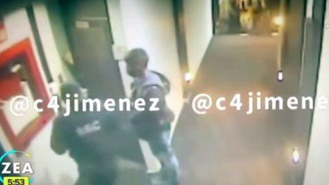 INDIGNANTE: Difunden video de la detención en hotel del diputado Saúl Huerta
