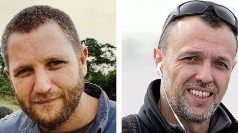 Mañana llegan a España los cuerpos de los periodistas asesinados en Burkina Faso