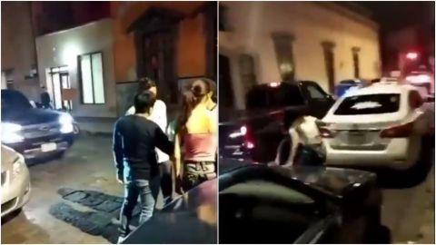 Captan en video embestida de conductor contra un grupo de jóvenes en SLP