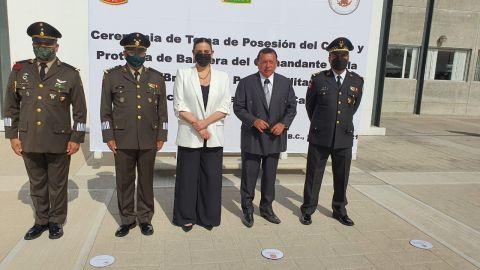 Arriba a Baja California nuevo coordinador de la Guardia Nacional