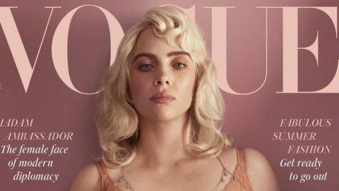 Billie Eilish sorprende a sus fans con sensuales fotos para la revista 'Vogue'