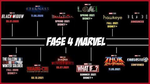 Marvel anuncia fechas de estreno de películas de la fase 4
