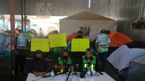 Acusan a Pueblo sin Fronteras de violencia en campamento de El Chaparral