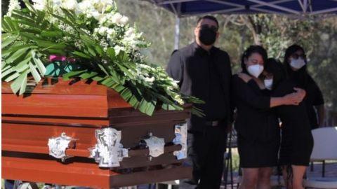 Honras fúnebres a policía de Tecate asesinada