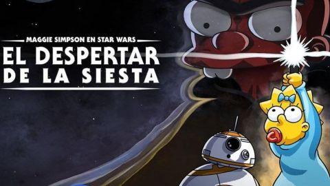 'Los Simpson' celebran el Día de Star Wars con fantástico corto de Maggie