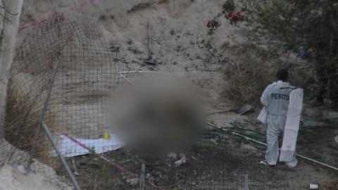 Hallan fosa clandestina en un predio abandonado en la colonia Sánchez Taboada