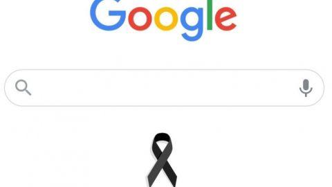 Google pone moño negro en doodle por víctimas de desplome en L12 del Metro