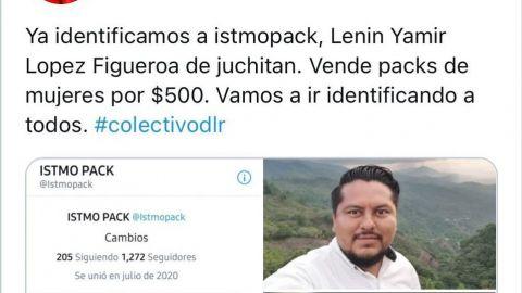 Colectivo pide aplicar Ley Olimpia contra hombre que vendía 'packs' en Oaxaca