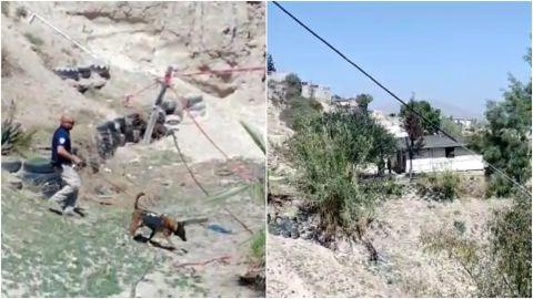 FGE busca más cuerpos en la fosa clandestina de la colonia Sánchez Taboada