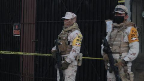 Ejército y Guardia Nacional resguardan predio donde se elaboraba un narcotúnel