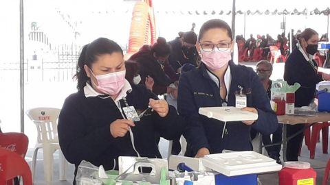 Poca asistencia de mujeres embarazadas en sitios de vacunación