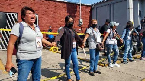 Colectivo de familias de desaparecidos toman Fiscalía en Veracruz