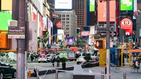 Tiroteo en Times Square, Nueva York, deja 3 heridos; entre ellos un niño