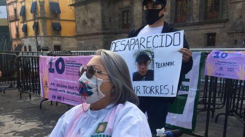 Madres de desaparecidos piden ver a AMLO