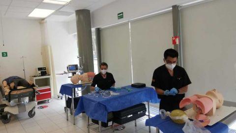 Laboratorios universitarios en Puebla inician clases presenciales