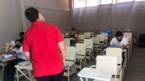 Regresan a clases alumnos de educación básica de Guanajuato