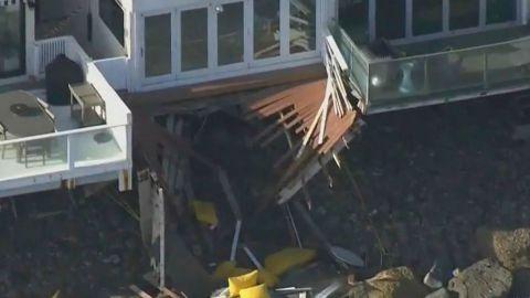 🎥 Se desploma balcón con invitados a fiesta en Malibú