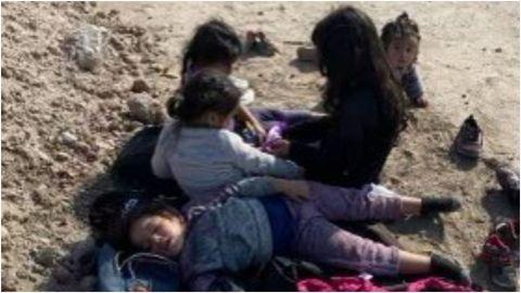Granjero de Texas encuentra a 5 niñas migrantes abandonadas en sus terrenos