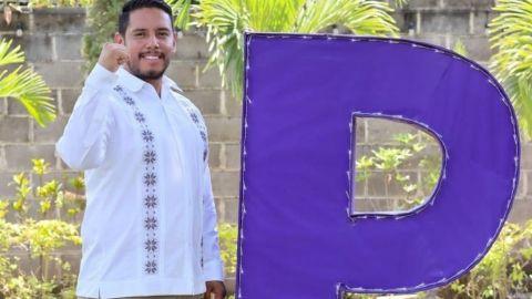 Balean casa de campaña de candidato, en Veracruz