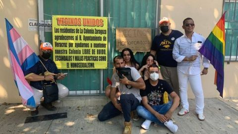 Cierran bar gay en Veracruz; vecinos agradecen con mensaje homofóbico