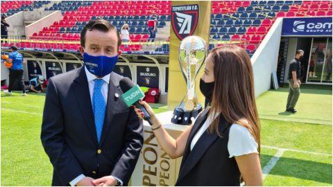 Mikel Arriola dice sí al ascenso pero con candados financieros