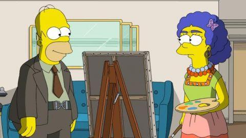 El capítulo de Los Simpson con homenaje a Frida Kahlo y Diego Rivera