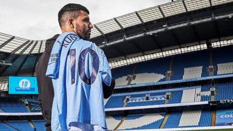 Manchester City despide a Sergio Agüero