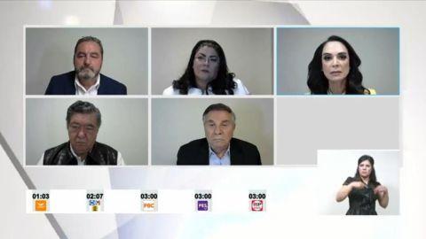 Seguridad y combate a la corrupción, temas del debate; sin Marina ni Ojeda