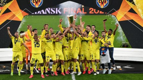 Villarreal vence en serie de penales al United y es campeón de la Europa League