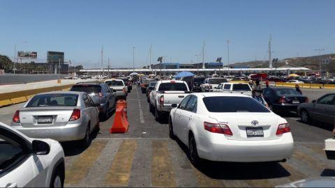 Migrantes intentaron cruzar de manera ilegal por garita de San Ysidro