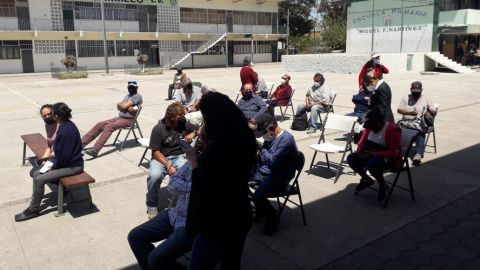 Habilitan sitios de vacunación COVID-19 en Tijuana y Rosarito
