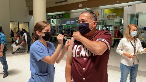 A vacunarse hoy, de 40 y más