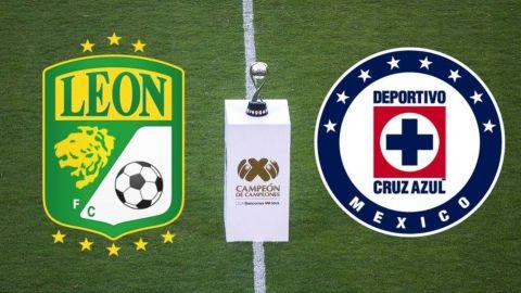 Cruz Azul disputará el Campeón de Campeones contra León