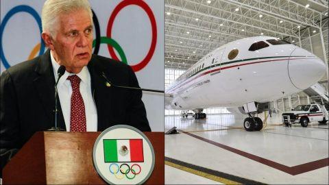 COM agradece apoyo, pero descarta el avión presidencial para Tokio