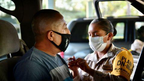 Últimos días de vacunación adultos 40 en Mexicali