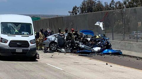 Viernes trágico en San Diego: tres muertos en choque