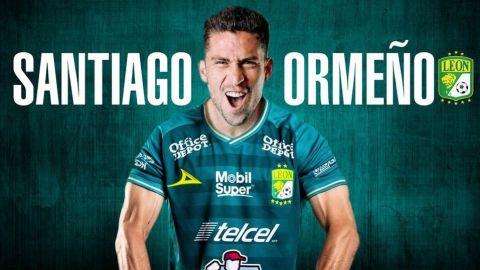 Santiago Ormeño es nuevo jugador del León para el Apertura 2021