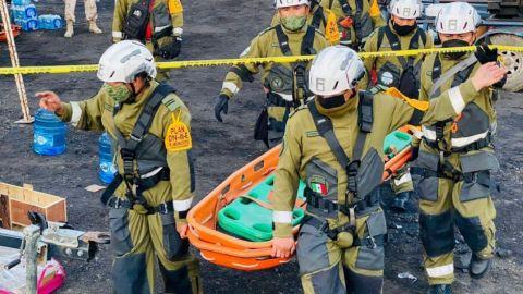 Rescatan cuerpo sin vida de trabajador de mina en Múzquiz tras derrumbe