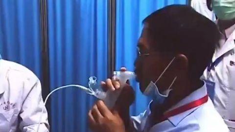 Aprueban en China vacuna inhalable CanSino; esperan que pronto llegue a México