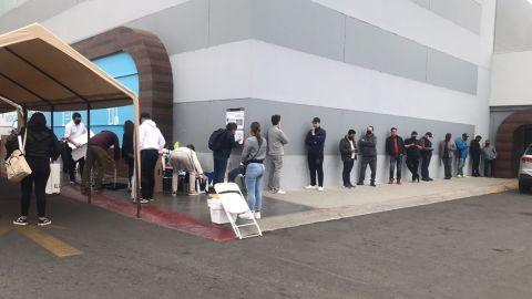 Ya hay filas para votar, la jornada electoral inicia a las 8 am