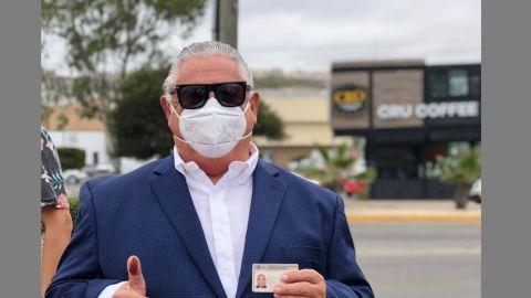 ''SE DESARROLLAN LOS COMICIOS EN UN CLIMA DE TRANQUILIDAD'': Amador Rodríguez