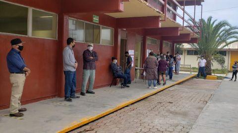 Alta afluencia de votantes en Ensenada