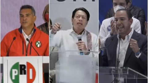 PAN, PRI, MC y Morena se dicen ganadores, pese a falta de resultados oficiales