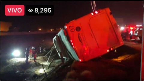 50 personas heridas en accidente en Rosarito