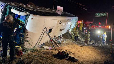 OFICIAL: 7 personas fallecidas y 6 graves en el trágico accidente de Rosarito