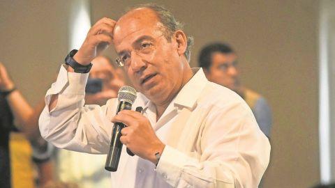 Felipe Calderón llama a no promover la polarización de la CDMX ''ni de broma''