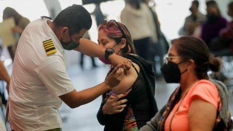 Vacunación anti-covid 19 en Tijuana y Rosarito