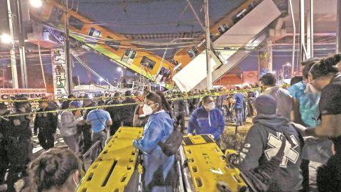 Falta transparencia de Mancera, acusa Ebrard ante colapso de L12 del Metro